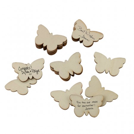 Set of 49 Guest Signing Butterflies200  Weddings