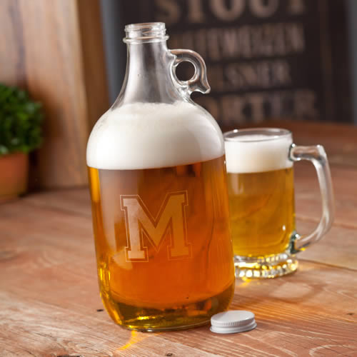 Personalized 64 oz Beer Growler200  Weddings