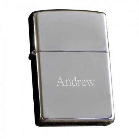 Personalized Chrome Zippo Lighter - engraved200  Weddings