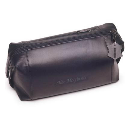 Personalized Leather Travel Kit200  Weddings