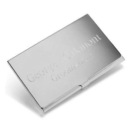 Personalized Silver Business Card Casewholesale/GC196.jpg Wedding Supplies