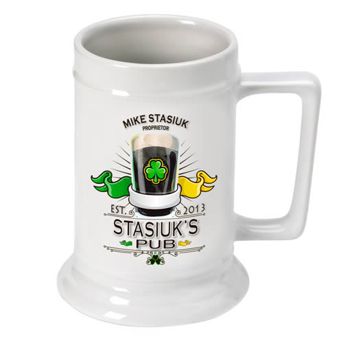 Personalized 16 oz. Beer Steins200  Weddings