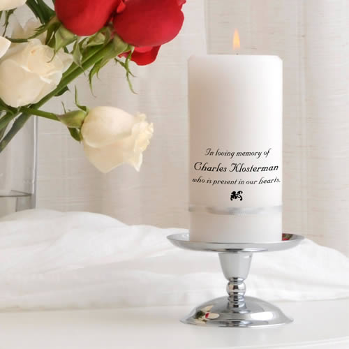 Memorial Candle Set  Weddings