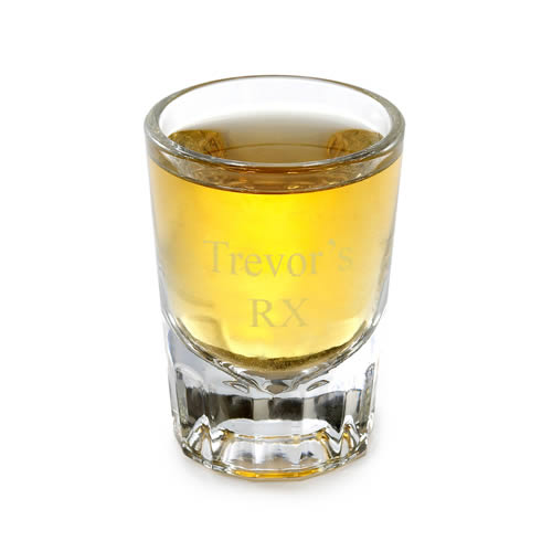Personalized Distinction Shot Glass (2 oz.)200  Weddings