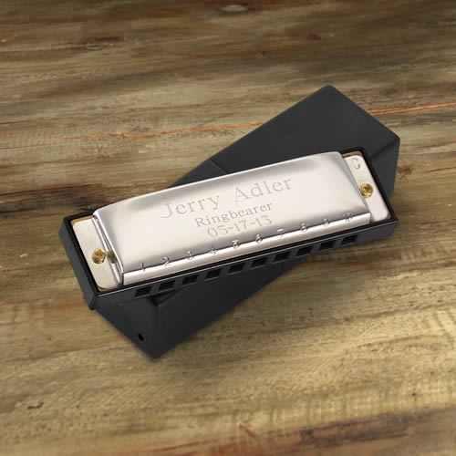 Personalized High Polish hohner Harmonica200  Weddings