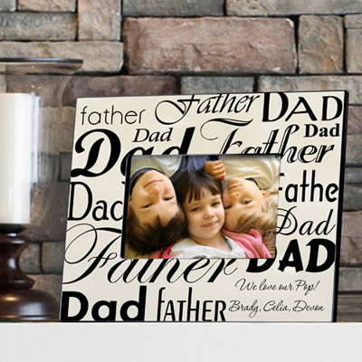 Personalized Dad-Father Frame200  Weddings