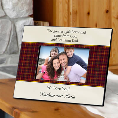 Personalized Fathers Poem Frame200  Weddings