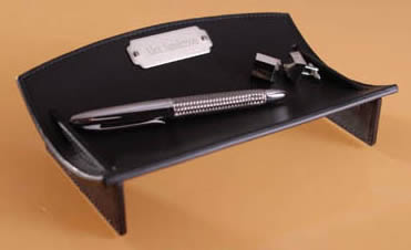 Personalized Leather Desk Caddiewholesale/GC493.jpg Wedding Supplies