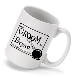 Personalized Groom to be Coffee Mug (15 oz.) Weddings