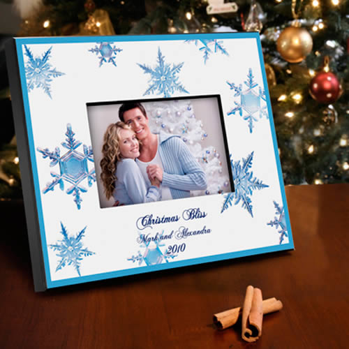 Personalized Snowflake Frames200  Weddings