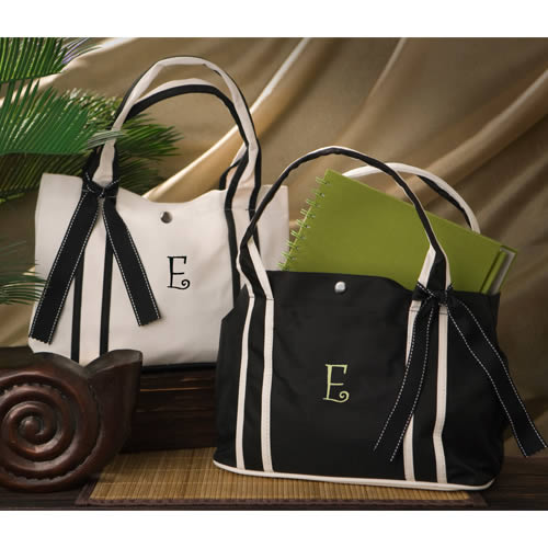 Personalized Roman Holiday Petite Tote (2 colors)wholesale/GC675.jpg Wedding Supplies