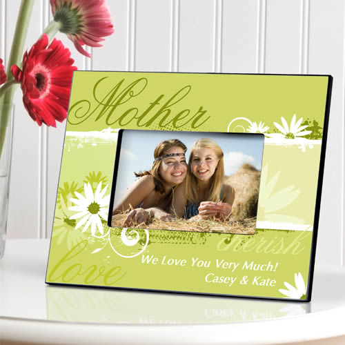 Personalized Delicate Daisy Frame200  Weddings