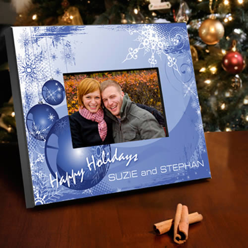 Personalized Merry Christmas Picture Frames200  Weddings