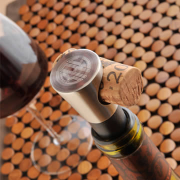 Personalized Buono Vino Wine Stopper200  Weddings