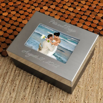 Personalized Lasting Memories Keepsake box  Weddings