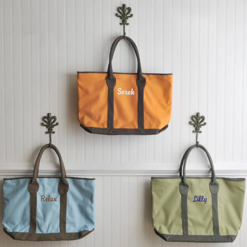 Personalized Countryside Tote (3 colors)wholesale/GC794.jpg Wedding Supplies