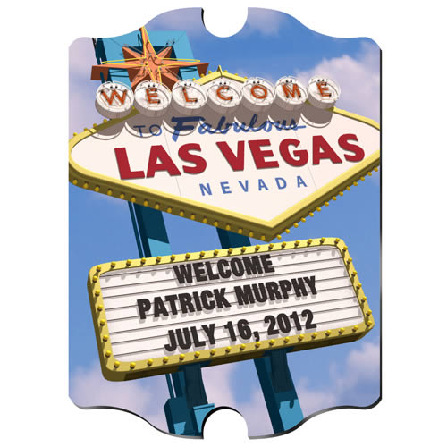 Personalized Vegas Marquee Vintage Sign200  Weddings