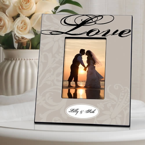 Personalized LOVE Couples Picture Frame200  Weddings