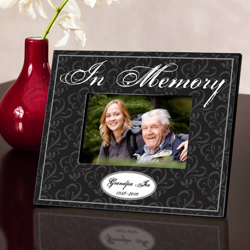 Personalized Memorial Picture Frame200  Weddings