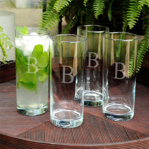 Personalized Portico Cooler Glass set of 4wholesale/GC879.jpg Wedding Supplies