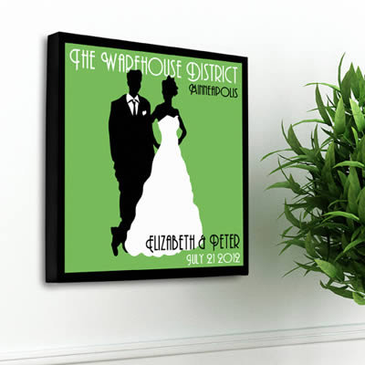 Personalized Couples Studio Canvas200  Weddings