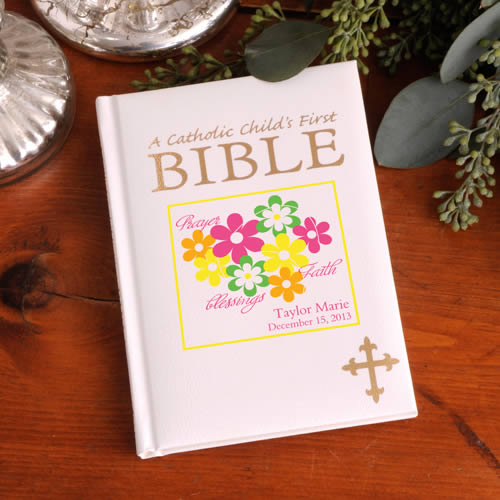 Personalized Catholic Childrens First Biblewholesale/GC904.jpg Wedding Supplies