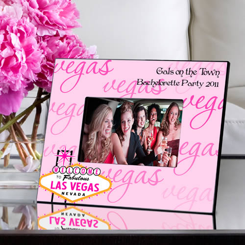 Personalized Gals Las Vegas Picture Frame200  Weddings