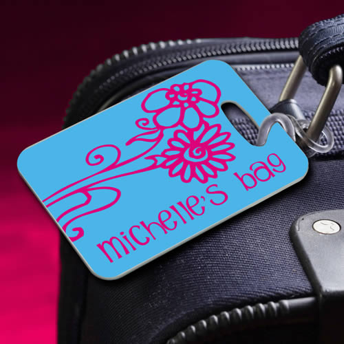 Personalized Bon Voyage Luggage Tags200  Weddings