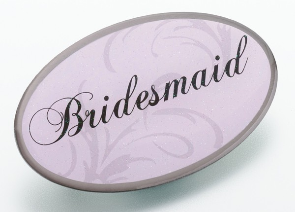 Bridesmaid Pink Pin200  Weddings