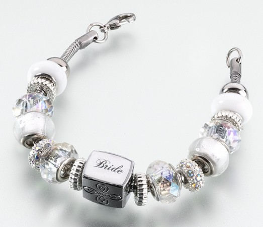 Bride Charm Bracelet200  Weddings
