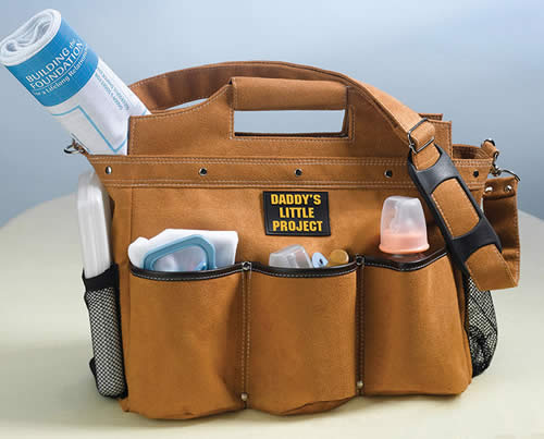 Construction Baby Diaper Bag
