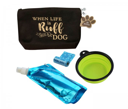 "Dog Travel Kit ""When Life is Ruff, Hug a Dog""wholesale/PA138-RU-2.jpg Wedding Supplies"