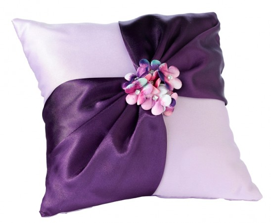 Radiant Flower Ring Pillow200  Weddings