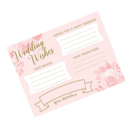 24 Bridal Shower Wishes Cards200  Weddings
