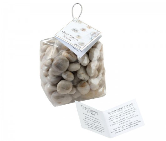 Natural Guest Signing Stones (Approx 100) Retailwholesale/SR105-2.jpg Wedding Supplies