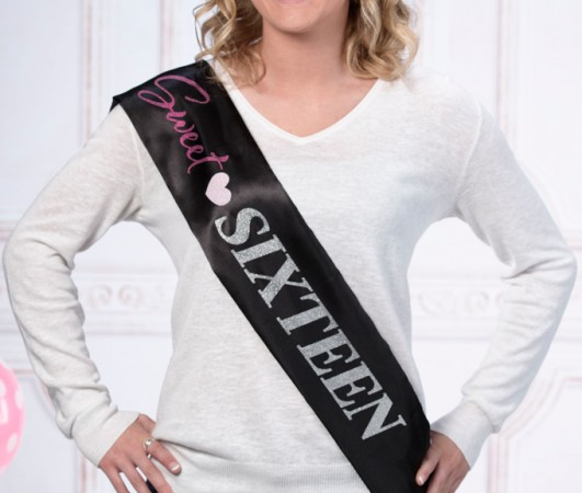 Sweet 16 Sash  Weddings