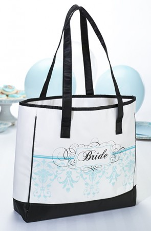 Bride Aqua Tote200  Weddings