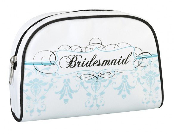 Bridesmaid Aqua Travel Bagwholesale/TR621_____BM.L.jpg Wedding Supplies