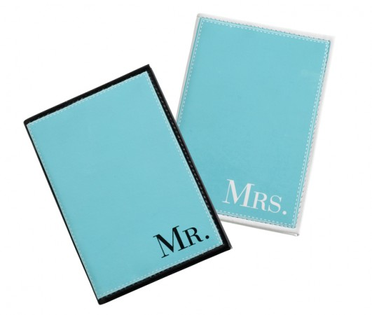 Aqua Mr. and Mrs. Passport Coverswholesale/TR641_____MM.L.jpg Wedding Supplies