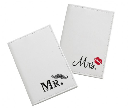 Lips/Mustache Passport Covers200  Weddings