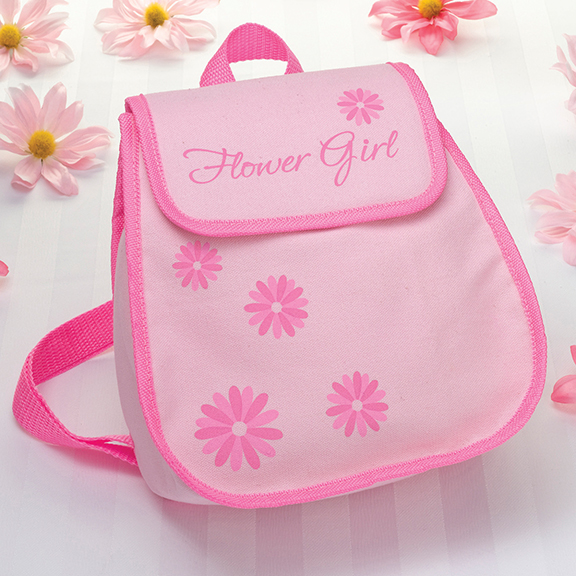 Flower Girl Backpack200  Weddings
