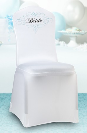 Bride Chair Cover  Weddings