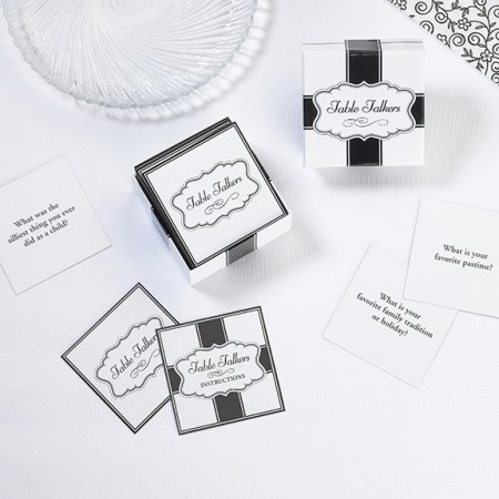 Conversation Cards in Gift Box  Weddings