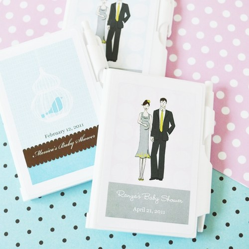 Elite Design Baby Shower Notebook Favors baby shower favors