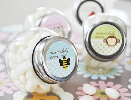 Baby Animal Candy Jars Shower Favor baby shower favors