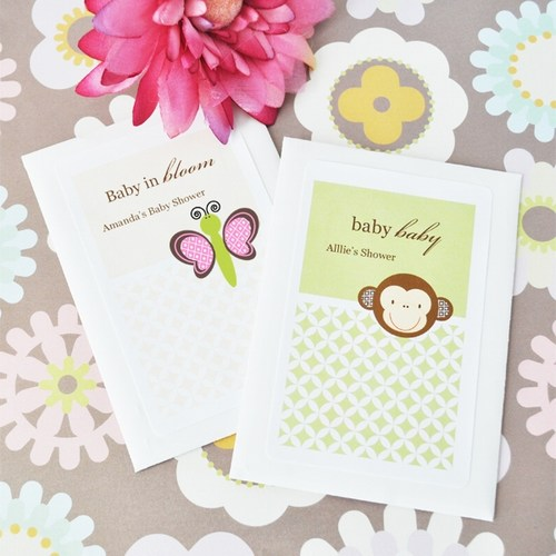 Baby Animal Seed Packets Shower Favors baby shower favors