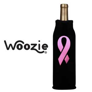 Bottle Cover with Breast Cancer Awareness Weddings
