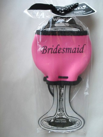 Bridesmaid Wine Glass Woozie200  Weddings
