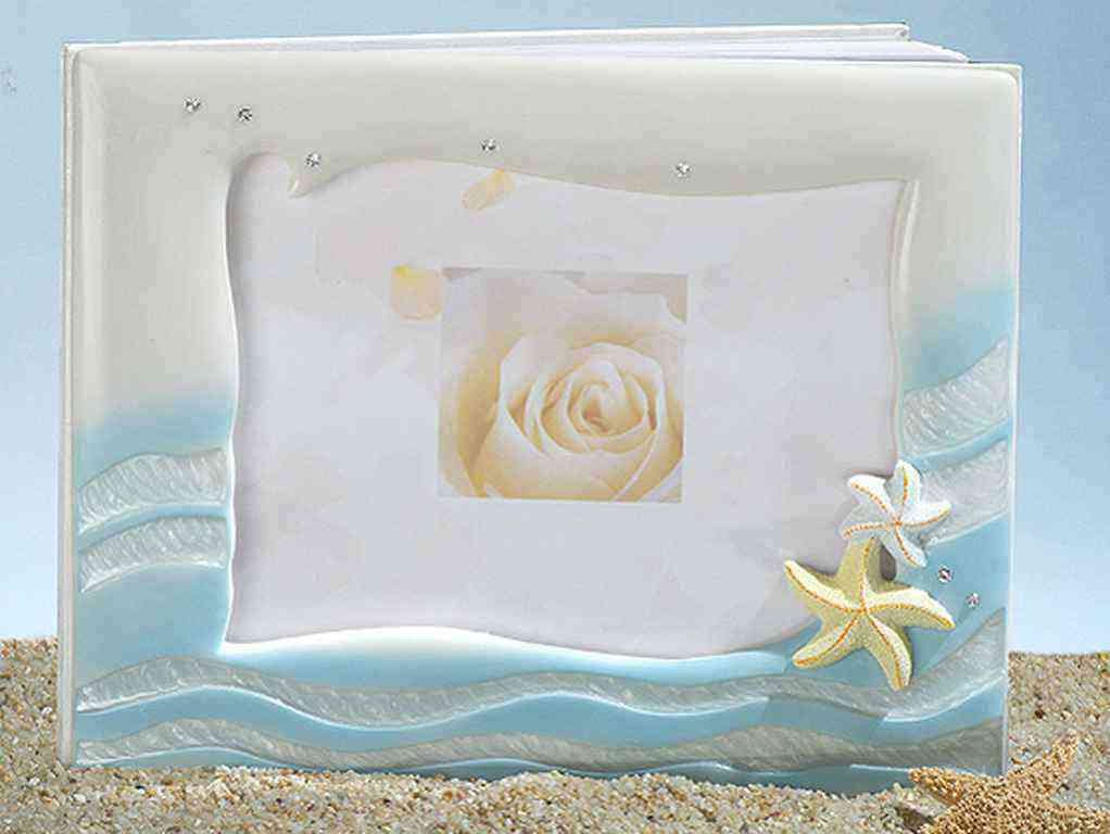 Starfish Beach Theme Guest Book & Pen Setwholesale/cc444.jpg Wedding Supplies