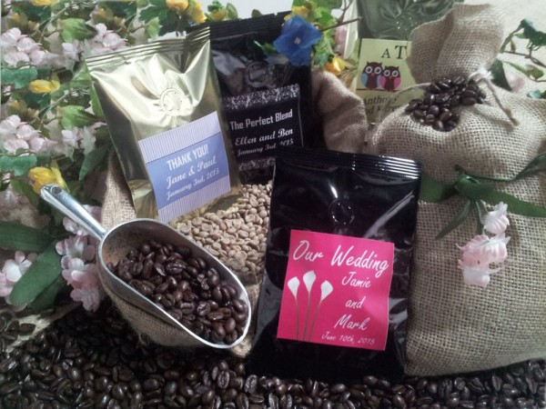 Coffee Favors - Coffee Party Favors  Weddings